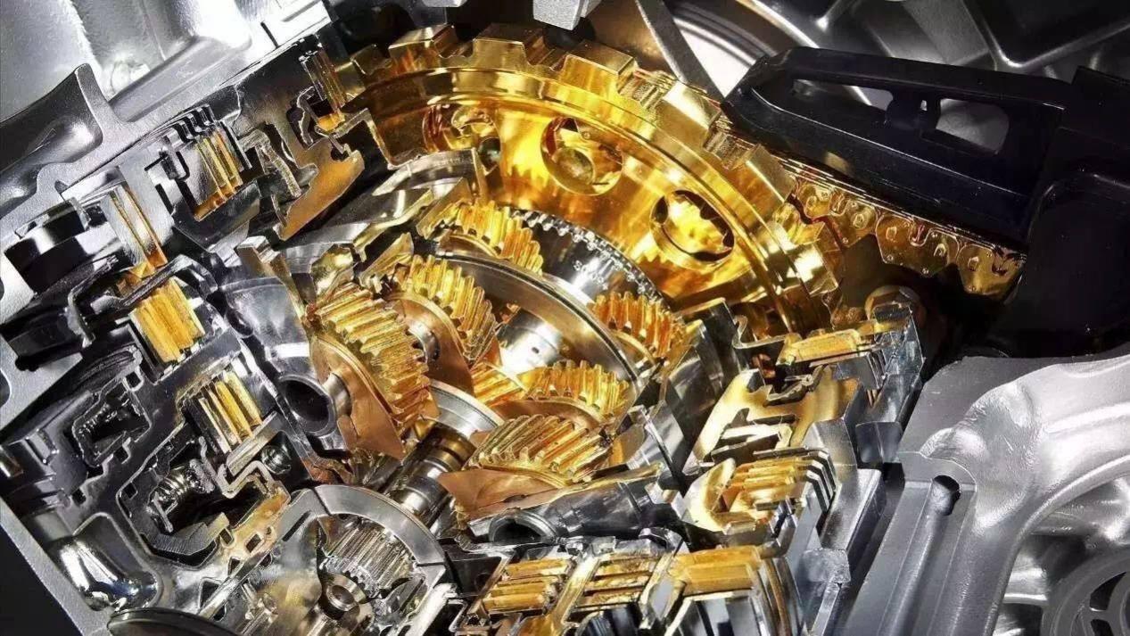 发动机内部